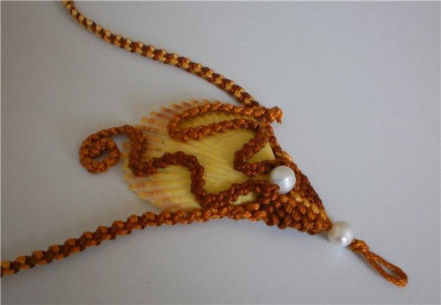 макрамеха, украшения от Шуламит