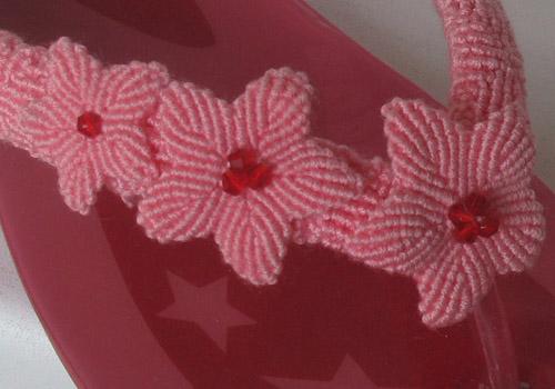 МакрамеХа, макраме цветы