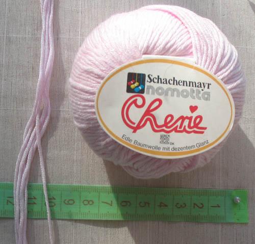 нить для плетения макраме цветочка