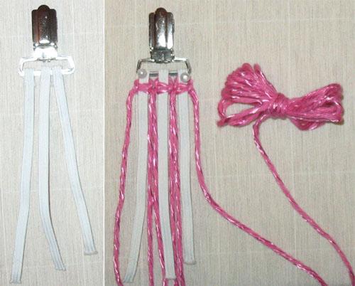 плетем макраме подтяжки