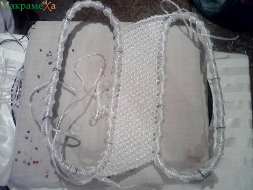 плетем чистый край