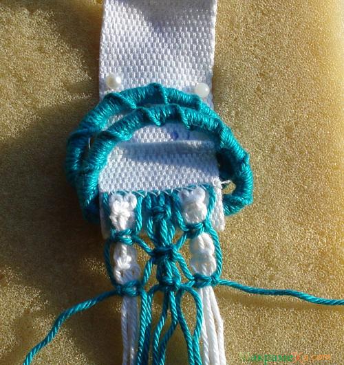 плетение поясочка