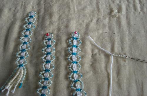 плетение тесьмы