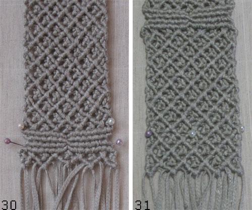 плетем лицевую часть сумки