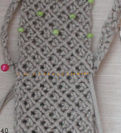 плетем боковую часть