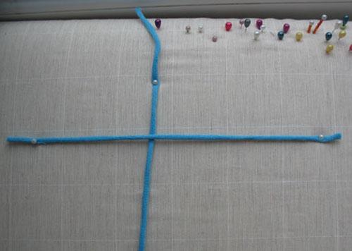 репсовый узел справа налево
